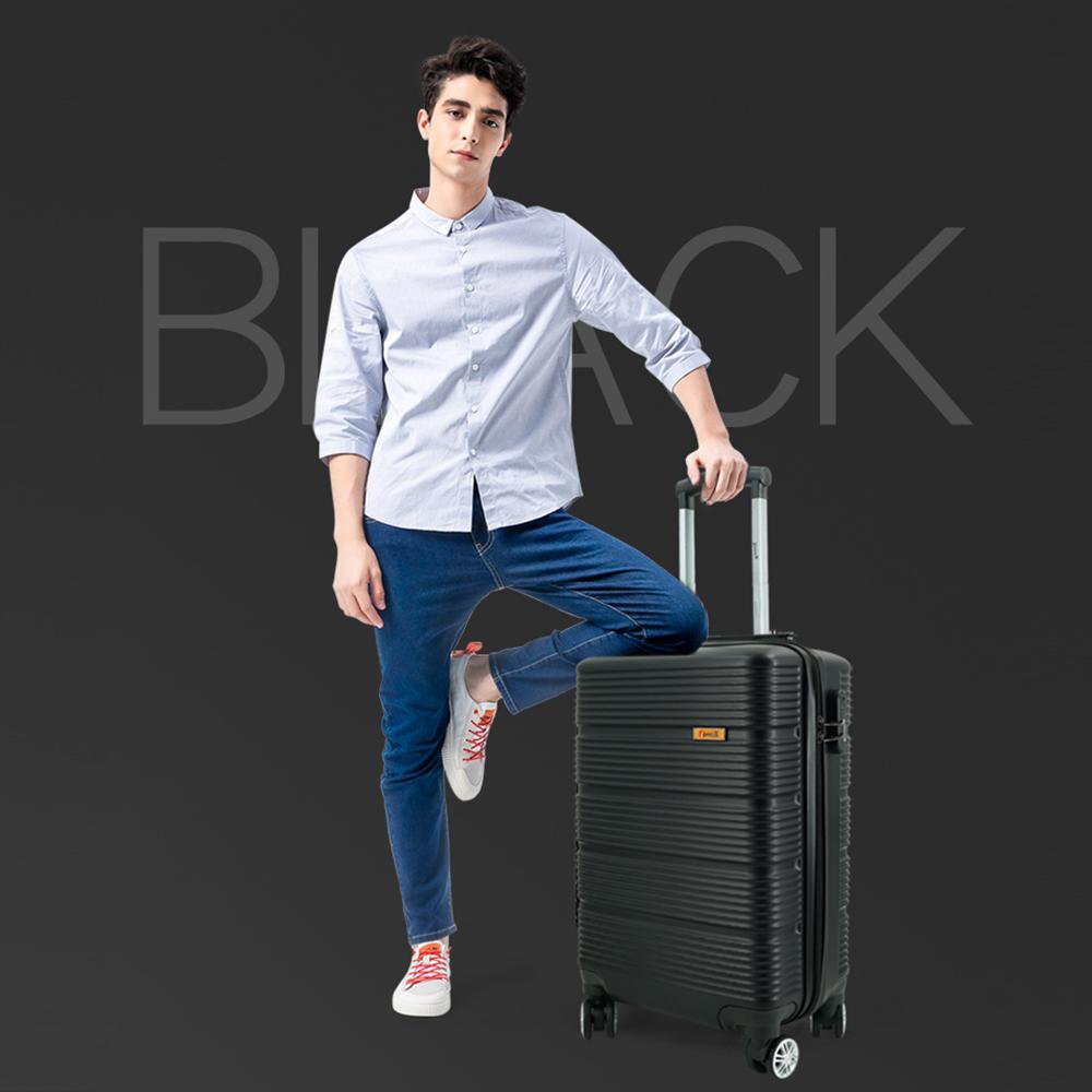 vali nhựa immax x13 màu đen