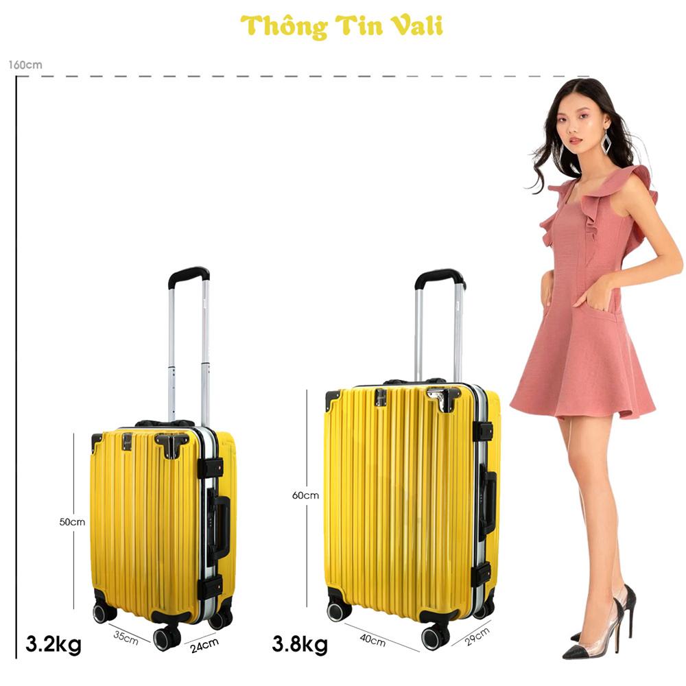 thông tin vali khung nhôm immax a18