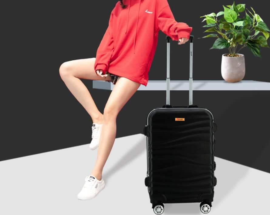 với vali size 24 inch tôi có thể chứa bao nhiêu kg